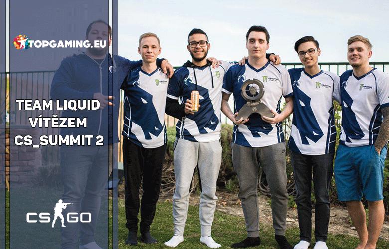 Team Liquid vítězem cs_summit 2