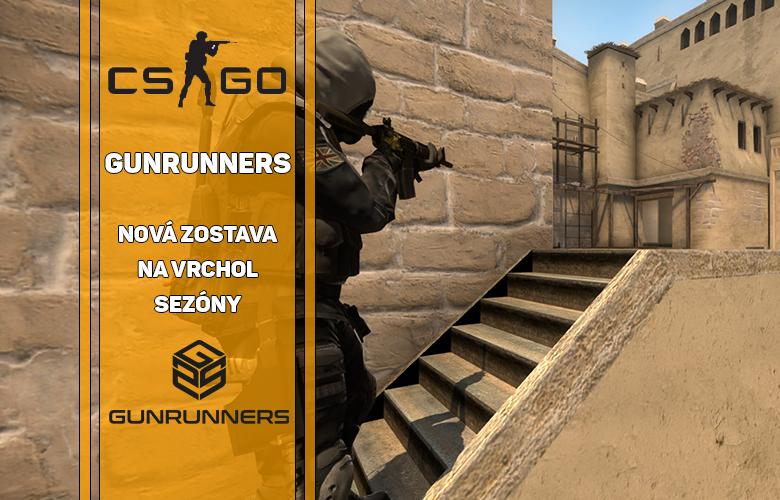 Gunrunners nová CSGO zostava