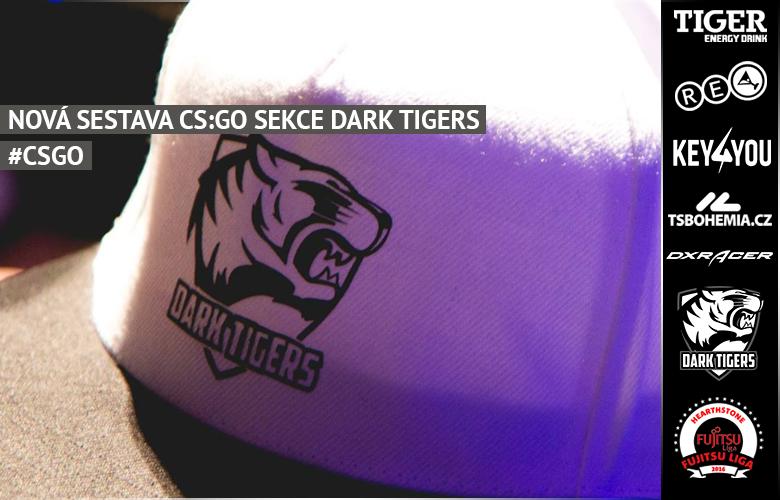 Dark Tigers s novou CS:GO sestavou