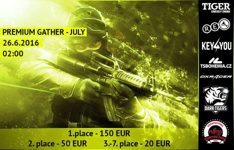 CS:GO gather july
