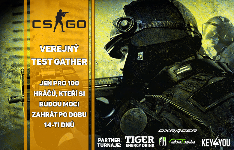 CSGO Gather v1.00 štartuje