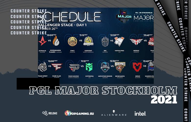 D1 - PGL Major Stockholm 2021 - Challengers Stage