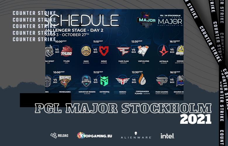 D2 - PGL Major Stockholm 2021 - Challengers Stage