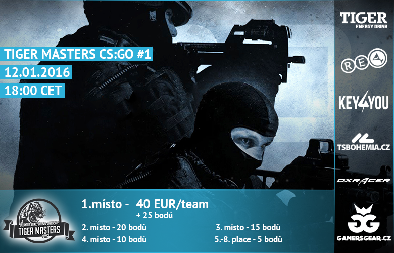 Tiger Masters i ve Counter Strike