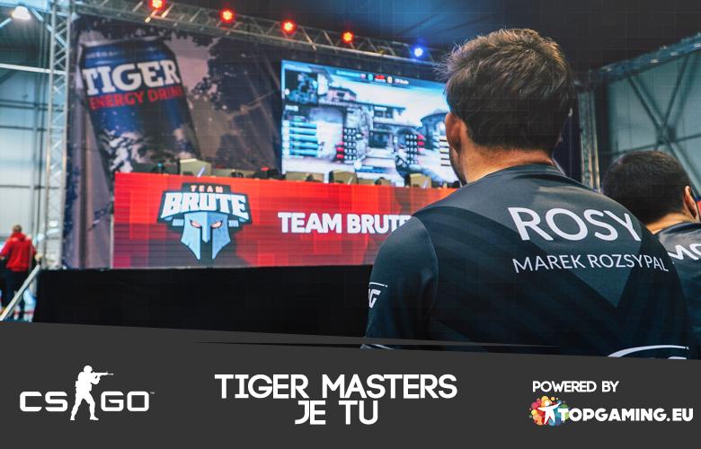 Tiger Masters CS:GO je tu