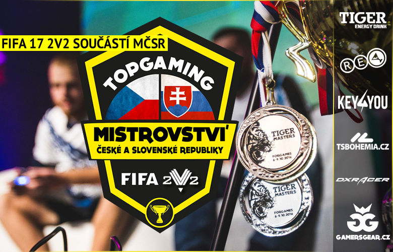 FIFA17 2v2 součástí MČSR