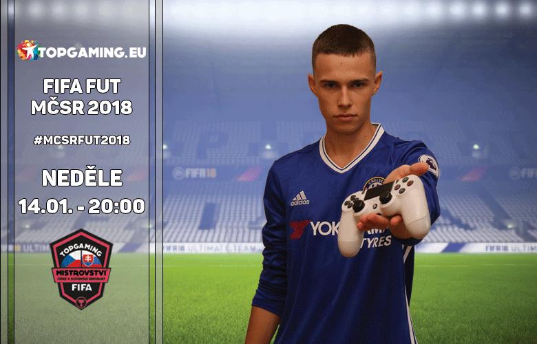 Start MČSR ve hře FIFA 18