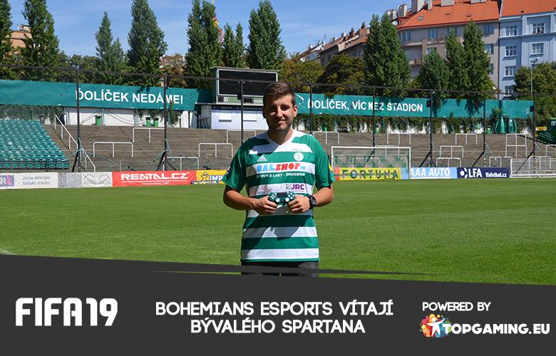 Bohemians esports vítají bývalého Sparťana