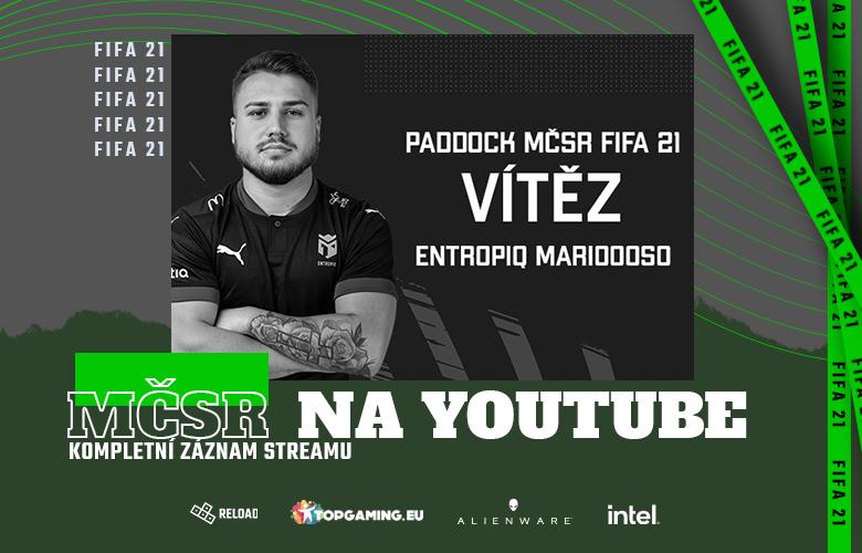 MCSR FIFA21 na youtube
