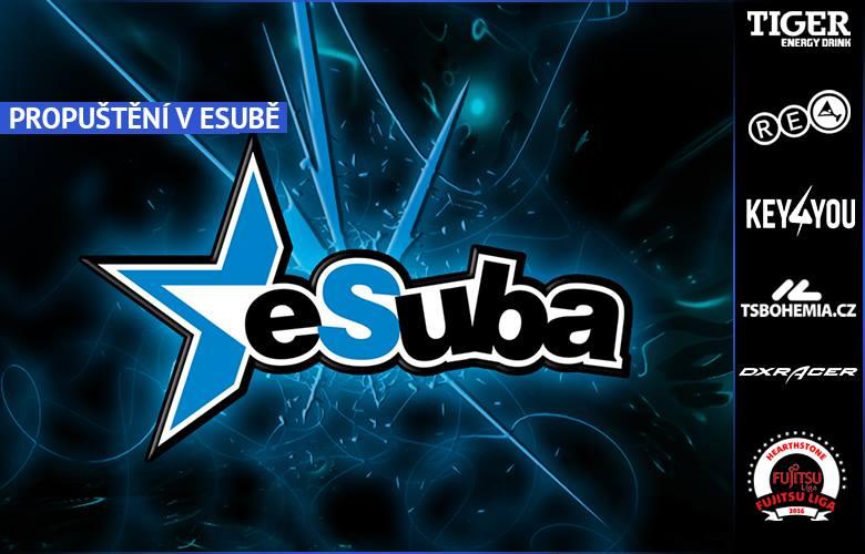 eSuba propou�t� 4 sekce