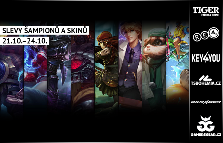 Slevy �ampion� a skin�