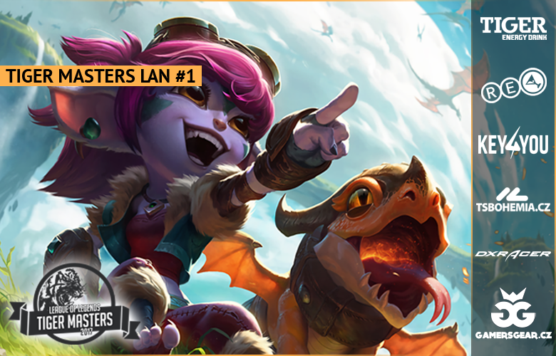 League of Legends LAN akce v RE-LOADE