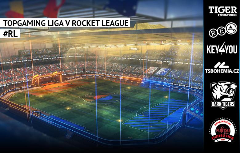 TopGaming liga v Rocket League