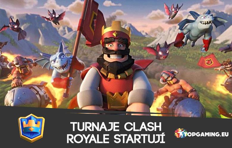 Clash Royale turnaje startují! Přidáte se?