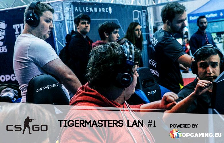 Tiger Masters Lan: TBR nahrazují Gravity