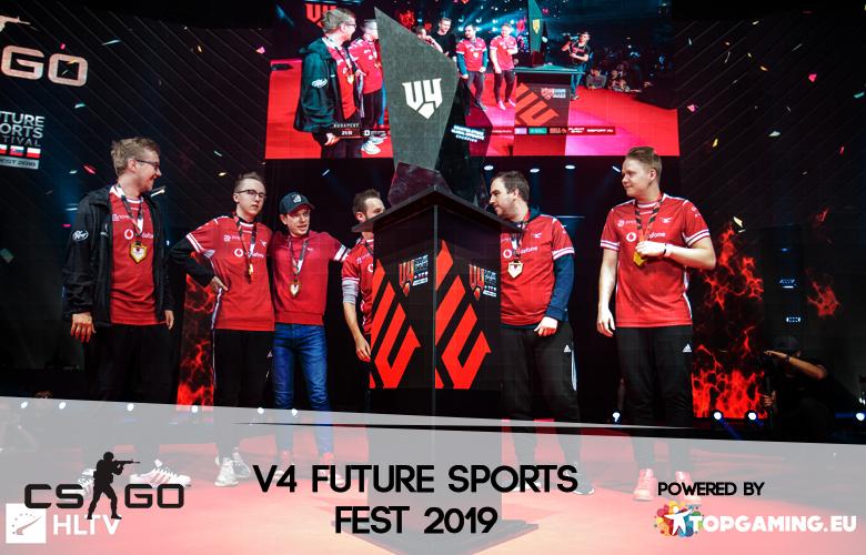 V4 Future Sports Festival je za rohem