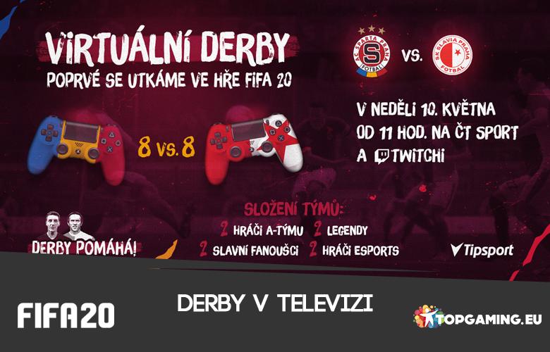Virtuální derby již v neděli