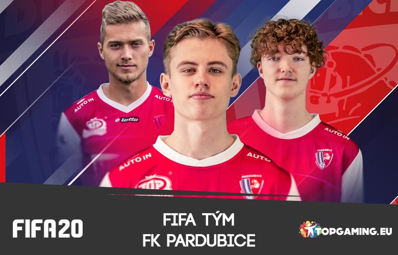 FK Pardubice představily svůj FIFA tým