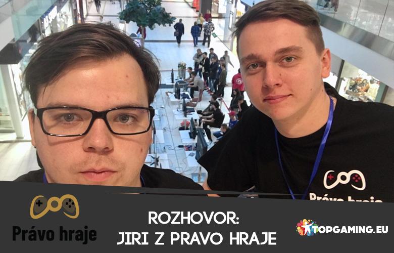 """Jiří z Právo hraje: """"Esportová scéna je docela divoký západ"""""""
