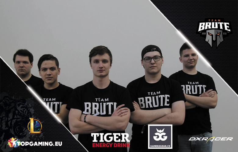 Team Brute na vlnách LoL